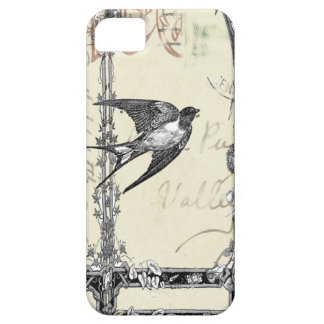 Vintage Style Bird Iphone Case