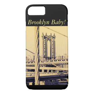 vintage style, Brooklyn Bridge Case-Mate iPhone Case
