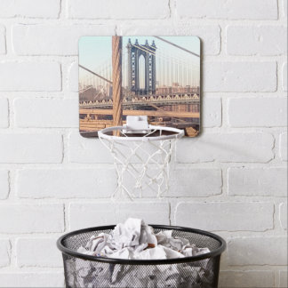 vintage style, Brooklyn Bridge Mini Basketball Hoop