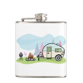 Vintage Style Camper Flask