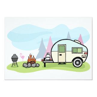 Vintage Style Camper Invitations