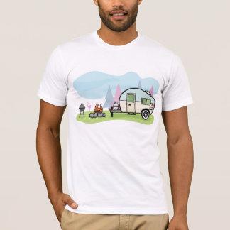 Vintage Style Camper Mens T-Shirt