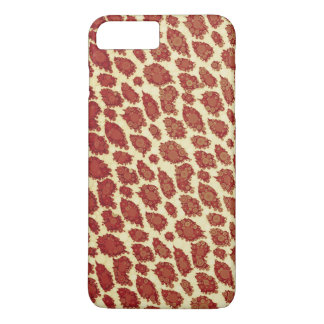 Vintage Style Cheetah Abstract iPhone 7 Plus Case