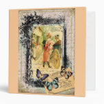 Vintage Style Couple in Carriage Binder