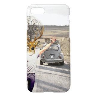 vintage style deer guy iPhone 7 case