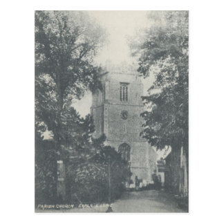 Vintage Style Earls Colne Church Postcard