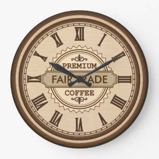 Vintage Style Fair Trade kitchen business clock