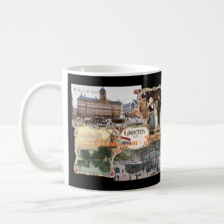 Vintage style Holland Old Amsterdam Coffee Mug