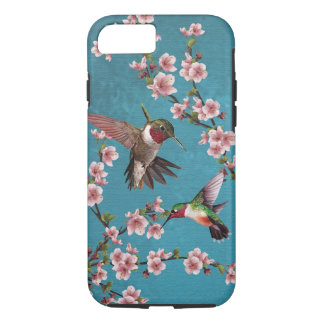 Vintage Style Hummingbird Painting iPhone 7 Case