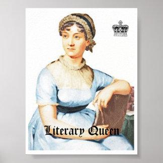 Vintage Style Jane Austen Poster