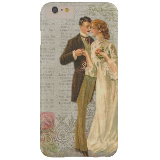 Vintage Style Lady & Gentleman iPhone / iPad case