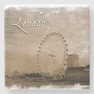 Vintage Style London coaster