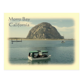 Vintage Style Morro Bay Postcard! Postcard