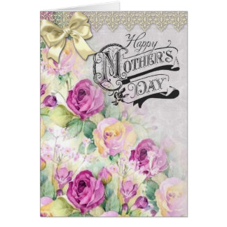 Vintage Style Mothers Day Card