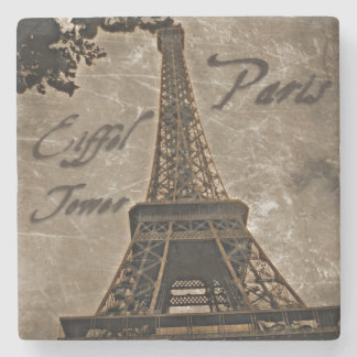 Vintage Style Paris coaster
