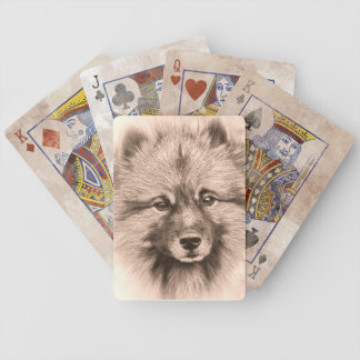 Vintage style premium playing cards. poker deck