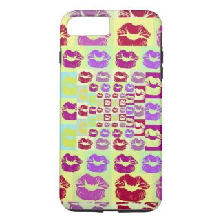 Vintage Style Sassy Lips iPhone 7 Plus Case