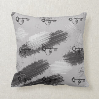 Vintage Style Skeleton Steampunk Trendy Pillow