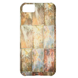 Vintage Style STAINED GLASS Tile Work Cover For iPhone 5C