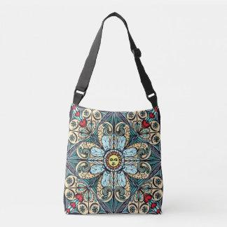 Vintage Style Sun MandalaBag Crossbody Bag