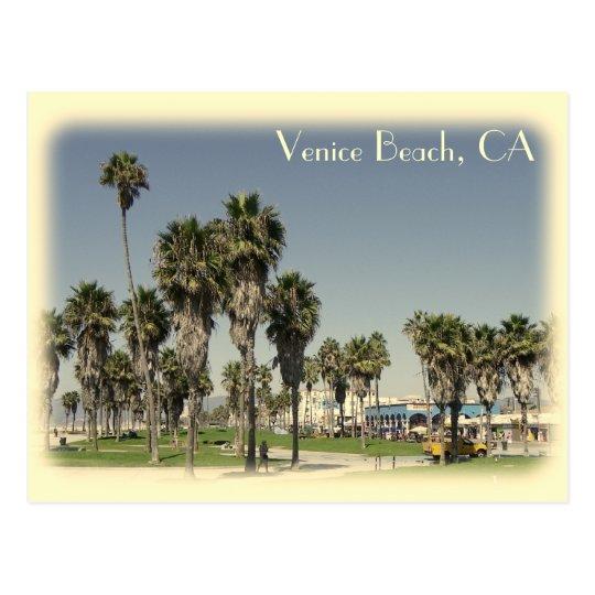 Vintage Style Venice Beach Postcard! Postcard