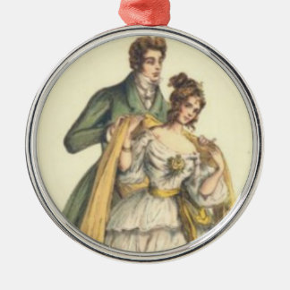 Vintage Style Victorian First Christmas Ornament