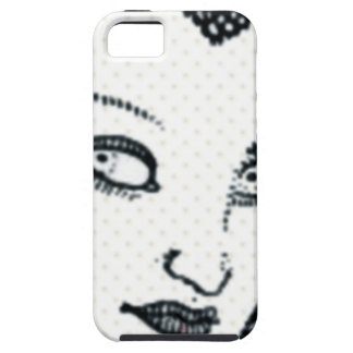 Vintage Style Woman iPhone 5 Cover