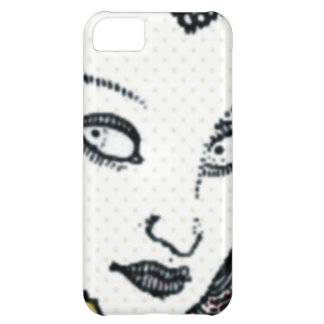 Vintage Style Woman iPhone 5C Case