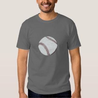 vintage styled baseball ball t-shirt