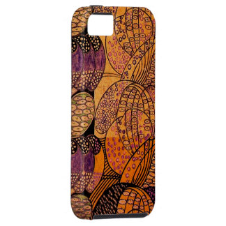 Vintage Stylized Daisies iPhone 5 Cover