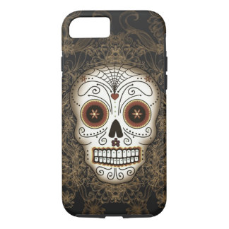Vintage Sugar Skull iPhone 7 case