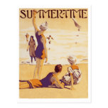 Vintage Summertime at the Beach Post Cards