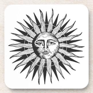 Vintage Sun Coaster