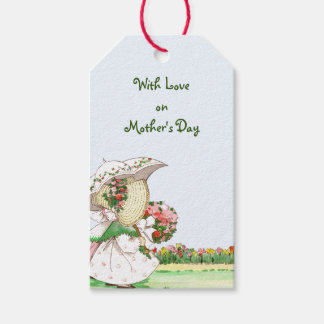 Vintage Sunbonnet Girls Mother's Day Gift Tags
