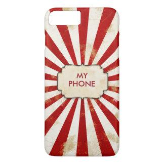 Vintage SunBurst Pattern iPhone 7 Plus Case