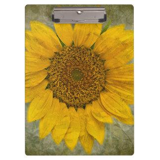Vintage Sunflower Clipboard