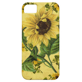 Vintage Sunflowers iPhone 5 Covers