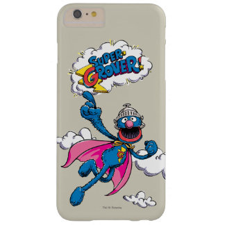 Vintage Super Grover Barely There iPhone 6 Plus Case