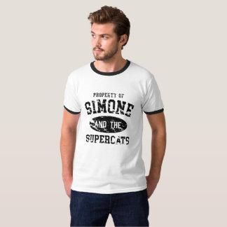Vintage Supercats College Ringer T-Shirt
