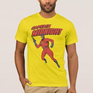 Vintage Superhero Captain Midnight T-Shirt