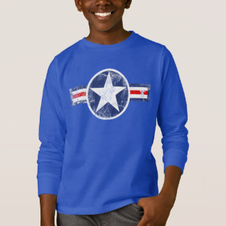Vintage Superhero Star Patriotic USA America Shirt