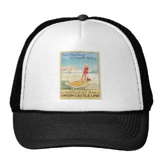 Vintage Surf Bathing South Africa Trucker Hat