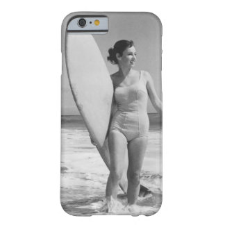 Vintage Surfer Girl Barely There iPhone 6 Case