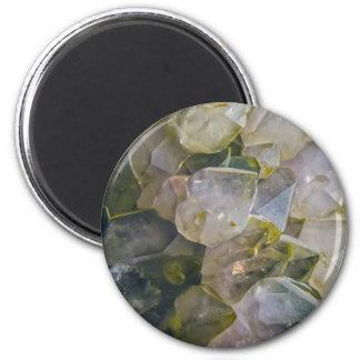 Vintage Swamp Crystals Magnet