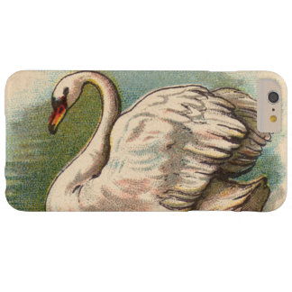 Vintage Swan Barely There iPhone 6 Plus Case