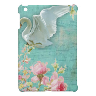 Vintage Swan iPad Mini Covers