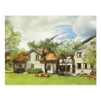 Vintage Sweden,  Youth Hostel, Sigtuna Postcard