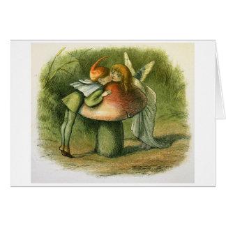 Vintage - Sweet Fairy Kiss, Card