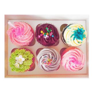 Vintage Sweet Tooth Cupcakes Postcard