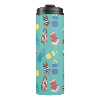 Vintage Swimsuits Thermal Tumbler